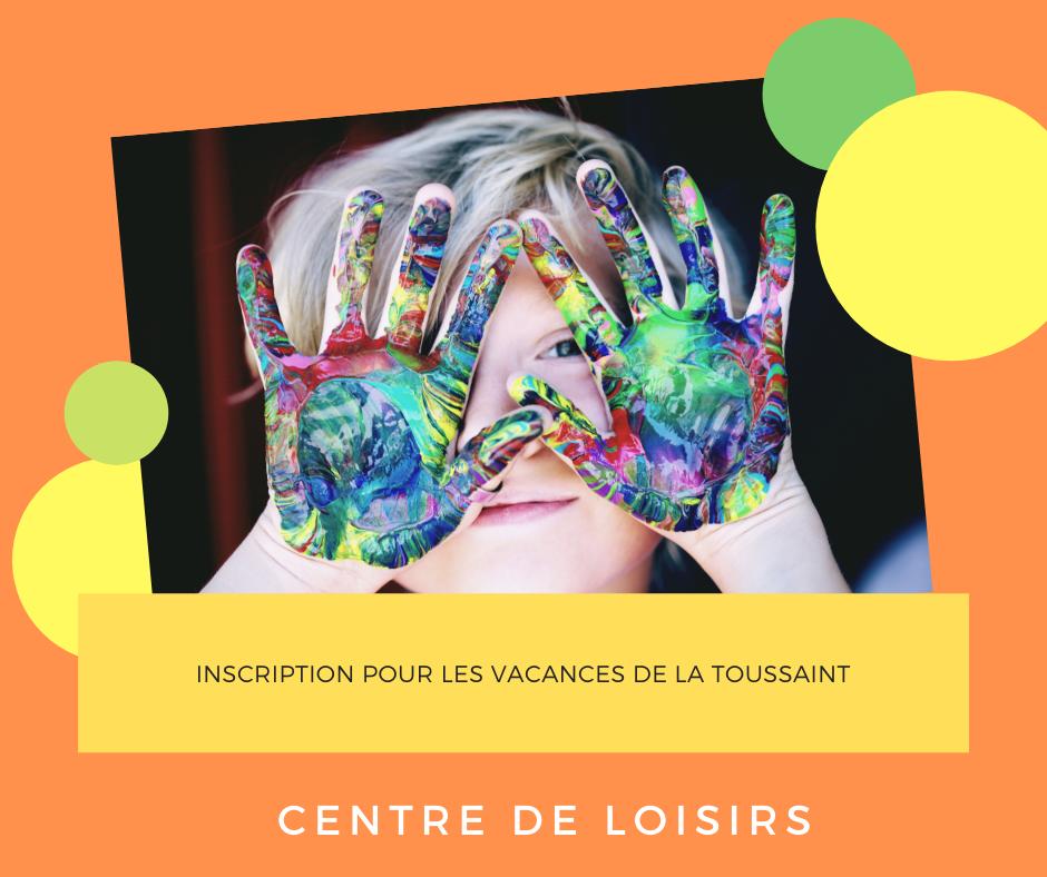 Le Centre de Loisirs communal ouvre ses portes aux vacances de la Toussaint