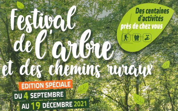 Édition spéciale de l'arbre et des chemins ruraux du 4 Septembre au 19 décembre